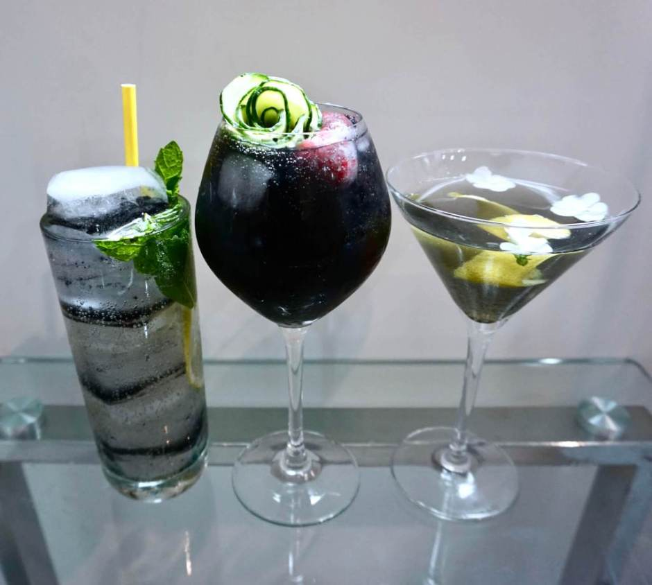 Charcoal Cocktails